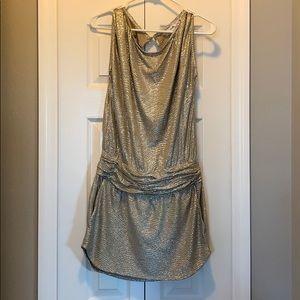 BGBG Gold Dress